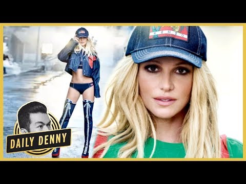 Britney Spears Looks Fit, Fab and Fresh-Faced in New Clothing Campaign | Daily Denny (видео)