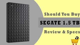 Segate 1.5Tb Hard Drive Review  Segate Expansion 1 5TB Hard Drive Review