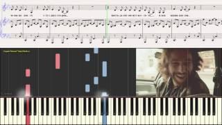 �грает Дассен - Жека (Ноты для фортепиано) (piano cover)