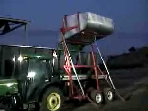 3 Ton Self Dumping Bin Demonstration