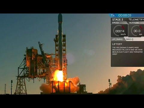 SpaceX: Επιτυχής εκτόξευση δορυφόρου