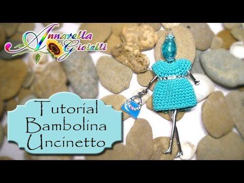 uncinetto - come creare una bambolina