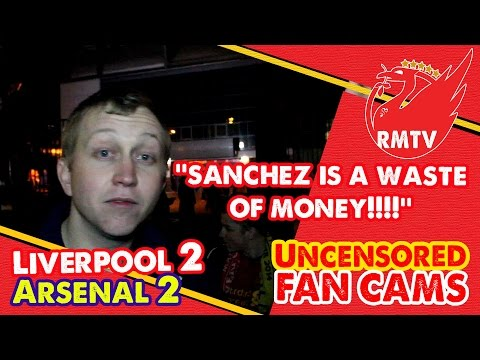 uncensored - In the aftermath of Liverpool's 2-2 draw with Arsenal, Chris was made up with Skrtel's point saving header and thought that Alexis Sanchez had a quiet game! The Redmen TV is Uncensored LFC...