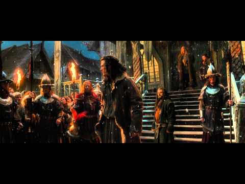 The Hobbit: The Desolation of Smaug Clip 'No Right to Enter That Mountain'