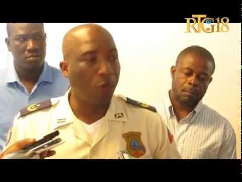 Clevens Cétoute a été installé au poste commissaire de police à Saint-Marc