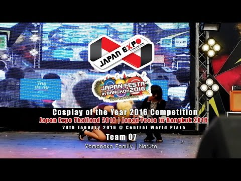 Japan Festa in Bangkok 2016 Cosplay of the Year – Team 07 Yamanaka Family | Naruto