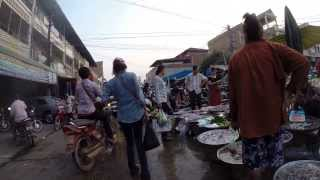 Banteay Meanchey Cambodia  city pictures gallery : Sisophon Market. Banteay Meanchey, Cambodia