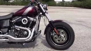 5. New 2015 Harley Davidson Dyna Fat Bob Motorcycles for sale in Florida