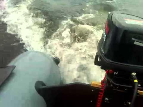 ниссан лодочные моторы видео 9.8 обкатка