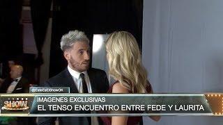 Exclusivo: El tenso encuentro entre Fede Bal y Laurita Fernández Video