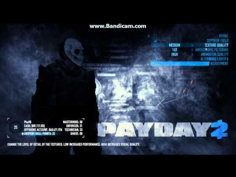 Payday 2 beta graphics problem