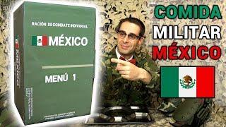 Probando Comida Militar Mexicana | Menú Supervivencia 1 México