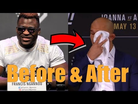Stipe Miocic Opponents Before and After Fights