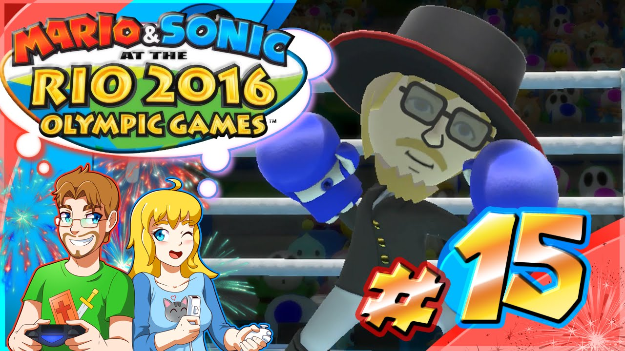 Mario & Sonic at the Rio Olympic Games Part 15 BOXING Tournament of Legends (HD)
