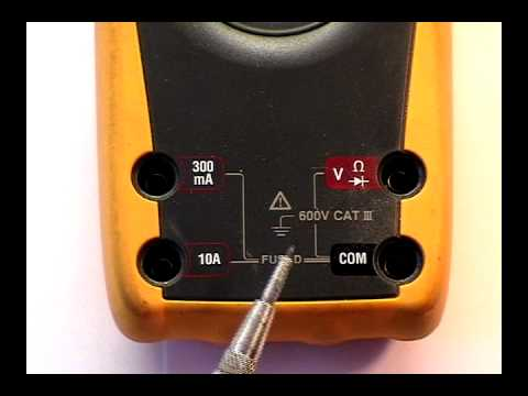 multimeter introduction Fluke 75 III
