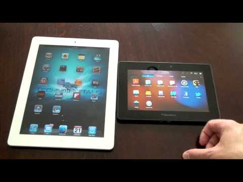 iPad 2 vs. BlackBerry Playbook