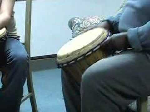 """African Drumming Lesson #1 """"Marketplace"""""""