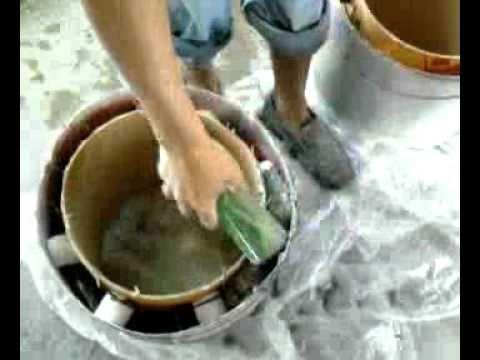 DIY: making our cement rocket stove, part 2