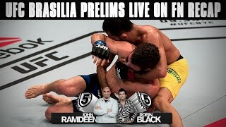 UFC Brasilia Prelims LIVE on FN Recap: Silva, Formiga, Prazares Victorious on 5 Rounds by Fight Network