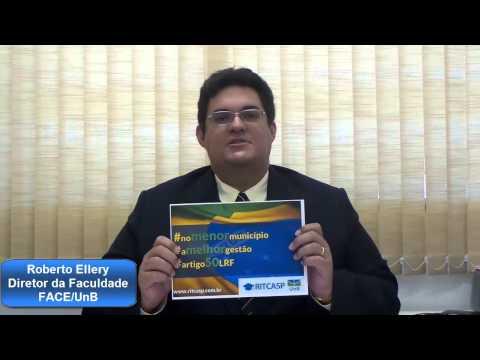Campanha RITCASP Artigo 50 Roberto Ellery FACE UnB