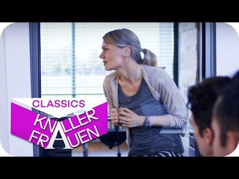 Eine verhängnisvolle Glastür   Knallerfrauen mit Martina Hill