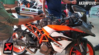 9. Trying Akrapovic and 6 Other Exhausts on the KTM RC390 2018