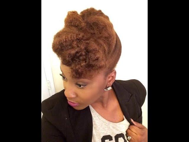 Textured-pompadour-updo-natural-hair