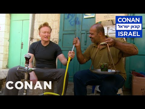 Conan O Brien Goes Hookah Shopping In Bethlehem