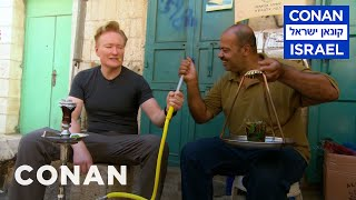 Video Conan Goes Hookah Shopping In Bethlehem  - CONAN on TBS MP3, 3GP, MP4, WEBM, AVI, FLV April 2018