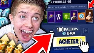 Video J'ACHETE TOUT LE PASS DE COMBAT SAISON 5 ET JE DÉCOUVRE LA NEW MAP SUR FORTNITE BATTLE ROYALE !!! MP3, 3GP, MP4, WEBM, AVI, FLV Juli 2018