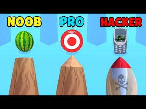 NOOB vs PRO vs HACKER - Log Thrower