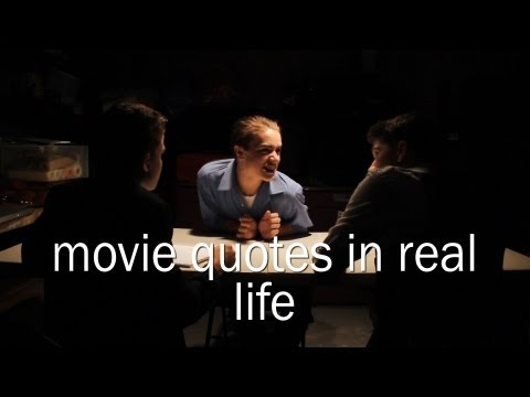 Movie Quotes in Real Life - Three Amigos Comedy