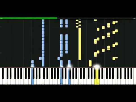 видео игры на фортепиано - Here Comes The Rain Again