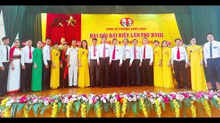 Đại hội Đại biểu Đảng bộ phường Vàng Danh lần thứ XVIII, nhiệm kỳ 2020-2025