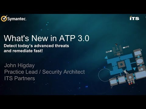 , title : '5 Awesome Features with Symantec's ATP 3.0'