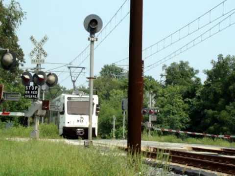 MTA Light Rail near BWI Airport