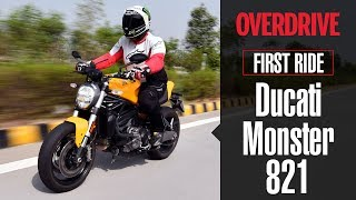 5. Ducati Monster 821 review | OVERDRIVE