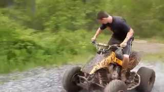 10. Rippin and Mudding on my buddies 03 honda 300ex