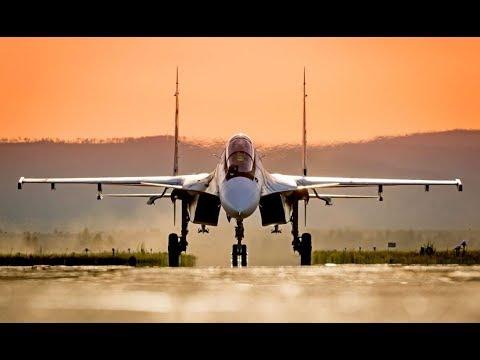 New Russian Su-30SM Jet Fighters...