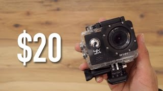 Video $20 4k Action Cam Review - Is it Worth it? | $20 GoPro | 4K MP3, 3GP, MP4, WEBM, AVI, FLV Juli 2018