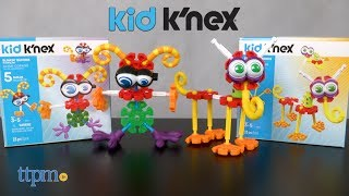 Preschool builders can build with K'NEX and its Kid K'NEX line of building sets! With Stretchin' Friends and Blinkin' Buddies, build five different models or create one of your own! Special pieces have stretching and blinking features! Great way to introduce preschoolers to K'NEX building and get them using their imaginations! See what TTPM built in this video review!  For full review and shopping info► https://ttpm.com/p/23524/knex/kid-knex-blinkin-buddies-building-set/?ref=ythttps://ttpm.com/p/23525/knex/kid-knex-stretchin-friends-building-set/?ref=ytProduct Info: Build silly creatures with the Kid K'NEX Stretchin' Friends and Blinkin' Buddies building sets, sold separately. Each comes with 23 pieces for building five different models or whatever kids can imagine.✮SEE MORE TOYS✮ARTSPLASH 3D LIQUID ART:https://ttpm.com/p/23570/mattel/artsplash-3d-liquid-art/?ref=ytDC SUPER HERO GIRLS FROST:https://ttpm.com/p/23551/mattel/dc-super-hero-girls-frost/?ref=ytMARVEL SPIDER-MAN SWING AND SLING SPIDEY: https://ttpm.com/p/23125/just-play/marvel-spiderman-swing-and-sling-spidey/?ref=yt✮SUBSCRIBE TTPM Toy Reviews✮https://www.youtube.com/c/ttpm✮SUBSCRIBE TTPM Baby Gear Reviews✮https://www.youtube.com/c/ttpmbaby✮SUBSCRIBE TTPM Pet Toys & Gear Reviews✮https://www.youtube.com/c/ttpmpets✮SUBSCRIBE TTPM First Look Toys Unboxing✮https://www.youtube.com/c/ttpmfirstlooktoys✮FOLLOW US✮Facebook: https://www.facebook.com/TTPMOfficialTwitter: https://twitter.com/ttpmInstagram: https://instagram.com/ttpmofficial/Pinterest: https://www.pinterest.com/ttpmofficial/Snapchat: TTPMOfficial: https://www.snapchat.com/add/ttpmofficial✮FOLLOW TTPM Baby✮Facebook: https://www.facebook.com/TTPMBaby/Twitter: https://twitter.com/TTPMbabyInstagram: https://www.instagram.com/ttpmbaby/✮FOLLOW TTPM Pets✮Facebook: https://www.facebook.com/TTPMPetsTwitter: https://twitter.com/TTPMPetsInstagram: https://www.instagram.com/ttpmpets/Pinterest: https://www.pinterest.com/ttpmpets/Disclosure: Toys reviewed by TTPM ar