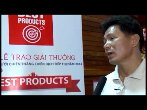 Buổi lễ trao giải thưởng dành cho người chiến thắng Chiến dịch Tiếp Thị BEST PRODUCTS 2014