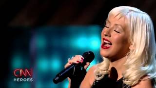 Christina Aguilera - Beautiful (Live at CNN Heroes, 2008)