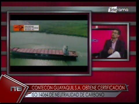 Contecon Guayaquil S.A. obtiene certificación ISO 14064 de Neutralidad de Carbono