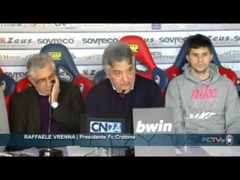 Calcio, Crotone: presentati i nuovi acquisti