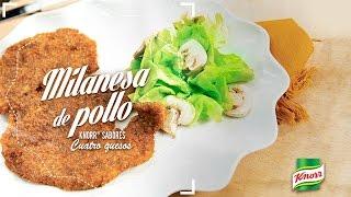 Milanesa de Pollo Knorr® Sabores Cuatro Quesos