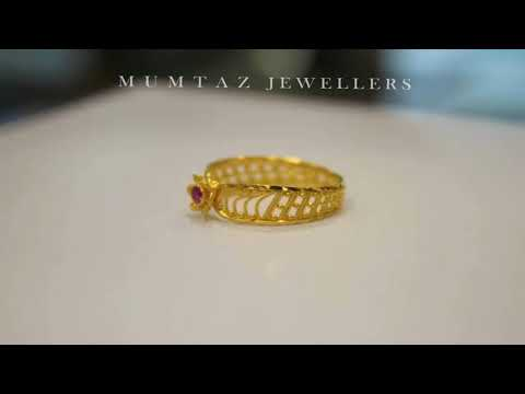 Latest Pure Gold Finger Rings Designs 2018 For Her