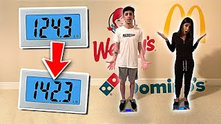 Video Who can GAIN the MOST WEIGHT in 24 Hours - Eating Challenge MP3, 3GP, MP4, WEBM, AVI, FLV Januari 2019