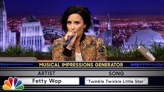 Video Wheel of Musical Impressions with Demi Lovato MP3, 3GP, MP4, WEBM, AVI, FLV Oktober 2018