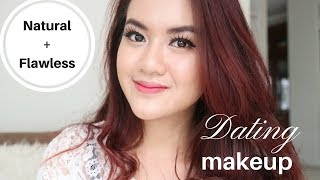 Video Natural + Flawless Dating Makeup Tutorial on Acne Prone Skin MP3, 3GP, MP4, WEBM, AVI, FLV November 2018